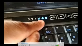 how to solve dell vostro 1320 on problem light blinking