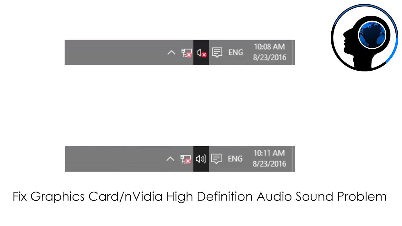 Fix Graphics Card/nVidia High Definition Audio Sound Problem