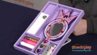 Decorate Your Own Wooden Princess Mirror From Melissa & Doug