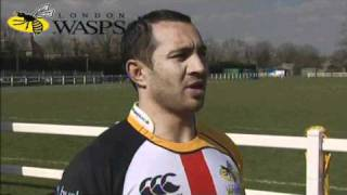 Riki Flutey previews the Northampton Game