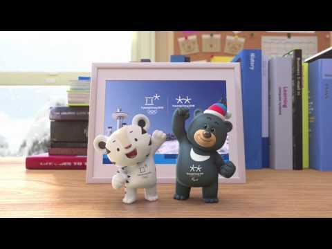 (KOR/ENG) PyeongChang 2018 First Episode of Mascot Animation Video _ 2018평창 마스코트 애니메이션(론칭편)