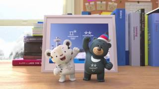 (KOR/ENG) PyeongChang 2018 First Episode of Mascot Animation Video _ 2018평창 마스코트 애니메이션(론칭편)
