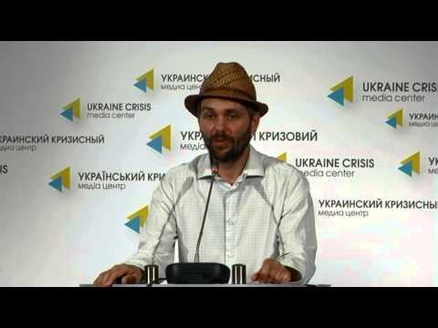 New forms of art. Ukraine crisis media center, 1 of July 2014