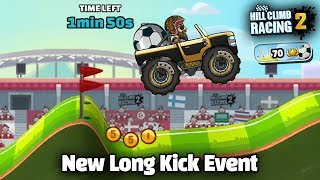 Hill Climb Racing 2 New Long Kick Event ⚽