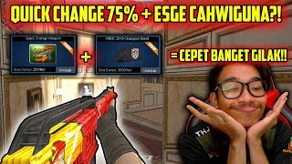 SG + QUICK CHANGE 75% ?! CAHWIGUNA RATAIN EXPERT!! // Gameplay Point Blank Indonesia