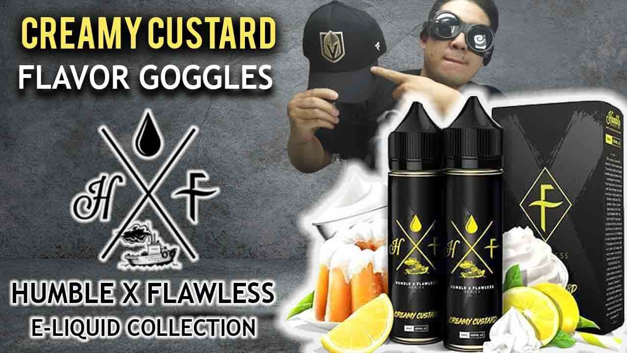Creamy (Lemon) Custard eLiquid by Humble X Flawless!