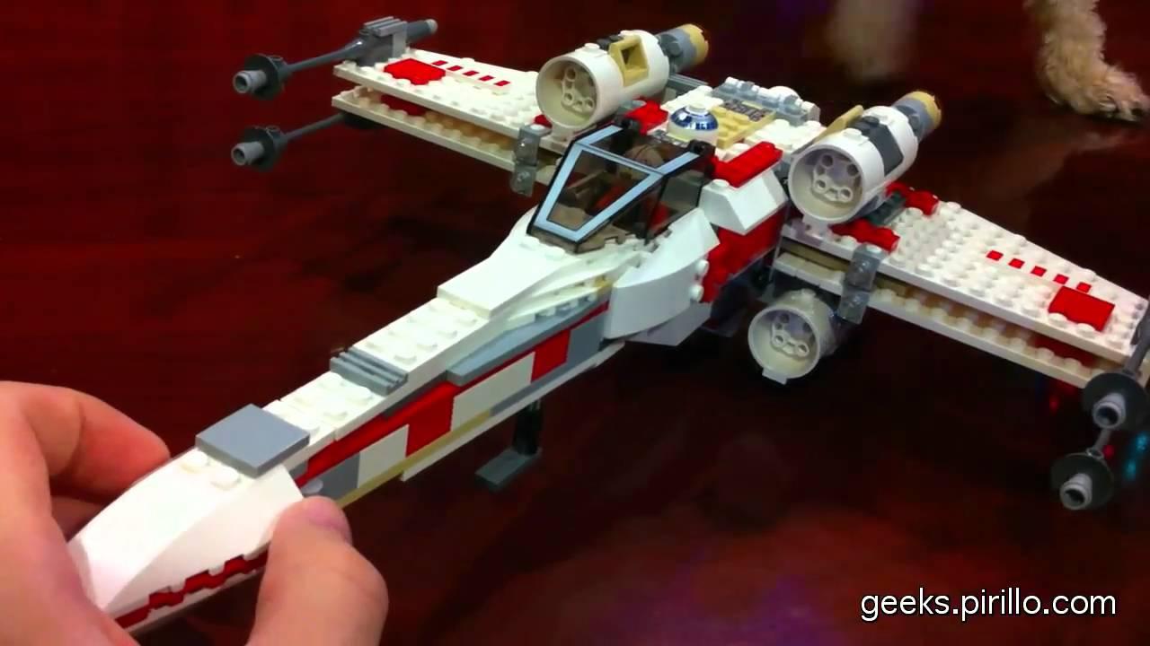 Uncategorized Luke Skywalker Ship star wars lego luke skywalker wedge hoth x wing fighter review youtube