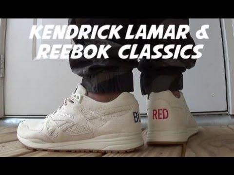 b4c195f4305 Kendrick Lamar Reebok Classics Ventilator Neutral Shoe Review On Foot With   DjDelz - YouTube