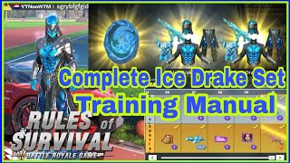 Opening Complete Ice Drake Set / Training Manual / Rules of Survival