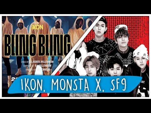 REACT iKON, MONSTA X e SF9 (K-POP)