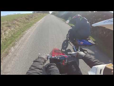 Yamaha Jog Fs Malossi MHR Team Speed 70cc - First Real Ride