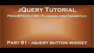 jQuery Button Widget