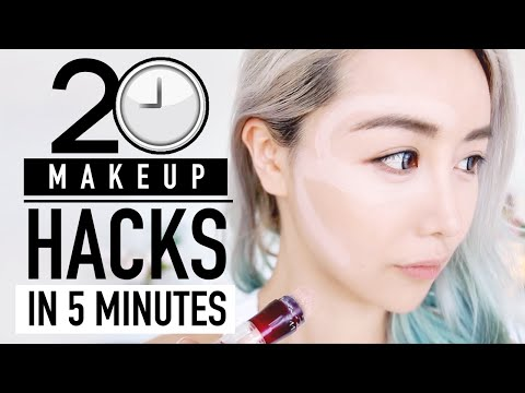 20 Makeup Hacks in 5 minutes ♥ Before & After Tutorials TESTED ♥ Try it Wengie ♥
