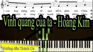 Vinh quang của ta - Hoàng Kim - Cover by Đại Thành Piano