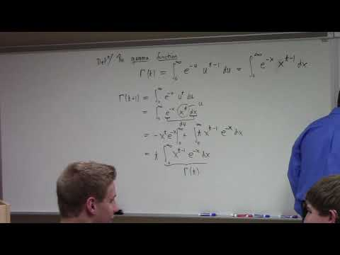Differential Equations: Gamma, Dirac, Green's Function, 11-7-17, part 1