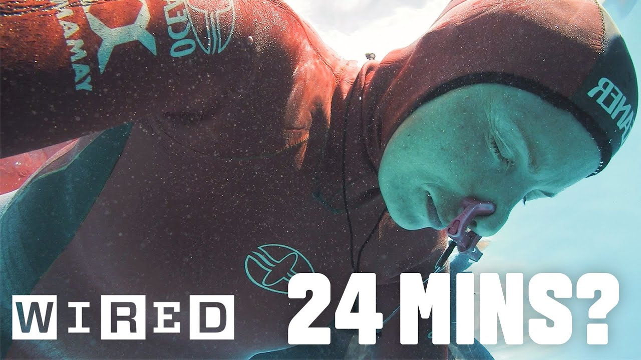 Why Holding Your Breath For 24 Minutes Is Almost Impossible | WIRED ...