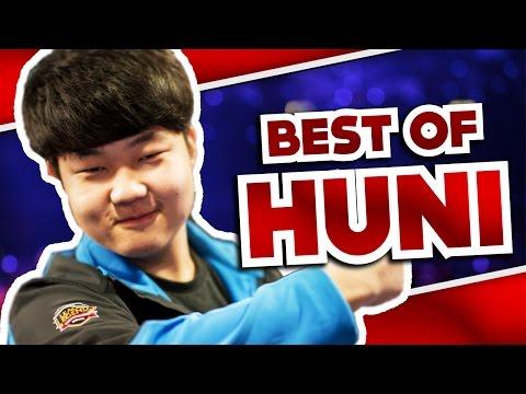 Best Of Huni - The SKT Toplaner | League Of Legends