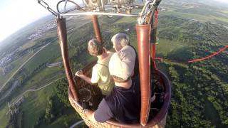 Father's Day Hot Air Balloon Ride 2015