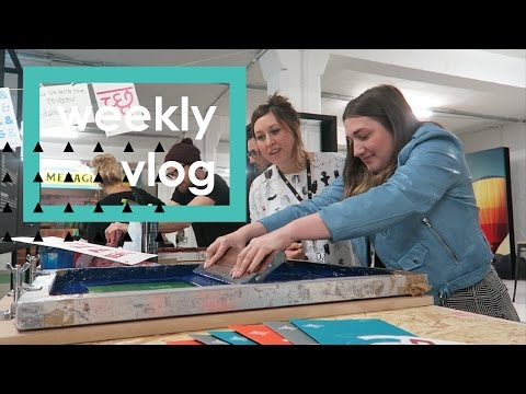 Macrame workshop with Made.com & my design dream | Weekly Vlog | Graphique Fantastique