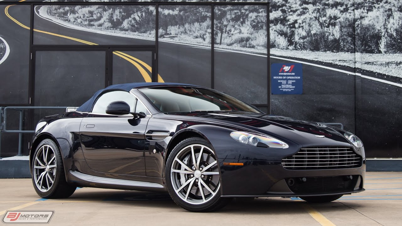 2012 Aston Martin V8 Vantage Roadster 6 Speed Manual Youtube