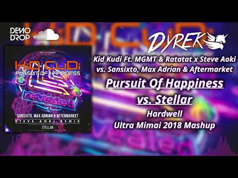 Pursuit Of Happiness vs Stellar (Hardwell Ultra Mimai 2018 Mashup) [Dyrek & Arturo Reyna Remake]