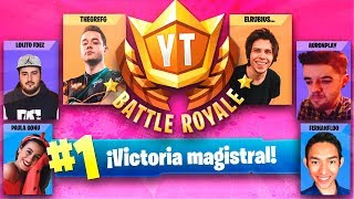 EL MAYOR TORNEO DE FORTNITE CON YOUTUBERS - TheGrefg