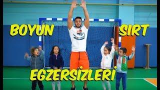 Okulda Boyun ve Sırt Egzersizleri | Tonguç Spor