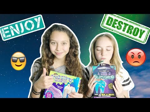 TESTING SLIME KITS!! MICHAELS VS FIVE BELOW! ENJOY OR DESTROY??