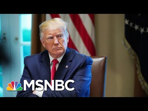 President Donald Trump Defends Saying He'd Take Foreign Info On Rivals   Hallie Jackson   MSNBC