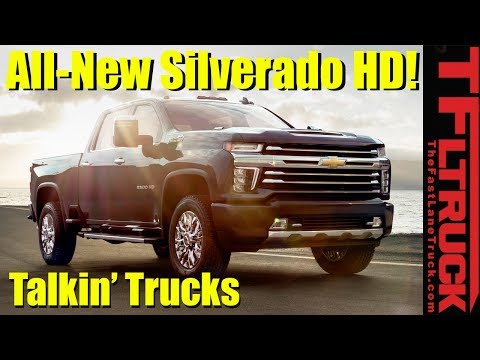 Here's What We Think About 2020 Chevy Silverado HD: Talkin' Trucks #25
