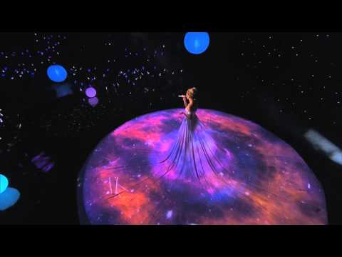 Video Mapping em Vestido Jennifer Lopez no AMERICAN IDOL