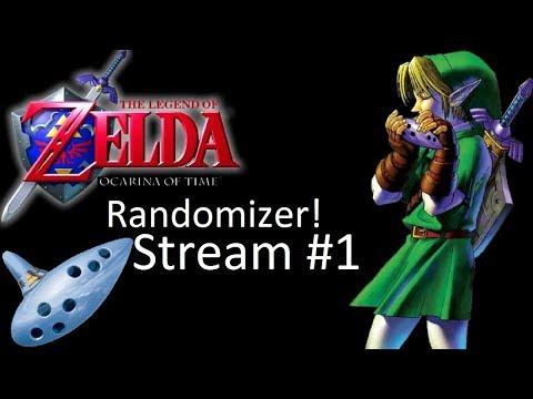 Kratos Streams The Legend of Zelda Ocarina of Time Randomizer Part 1: Way too random!