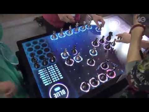 Speed Chess Played on a Electronic Effects Chess Board