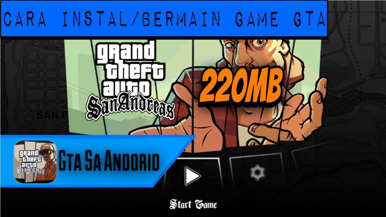 cara download game gta san andreas di laptop