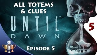 Until Dawn - All Totems, The Twins, 1952 & Mystery Man Clues - Episode 5 Collectibles