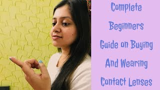 Learn how to buy contact lenses   Simple guide for beginners  Hints, Tips, Tricks