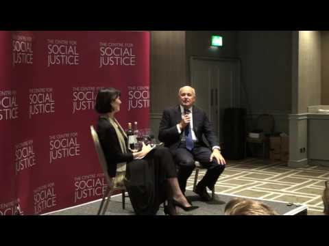 The Rt Hon Iain Duncan Smith MP with Jenni Russell - Conservative Conference 2016 (Part 1)