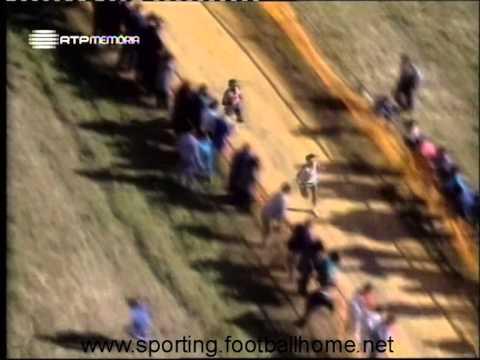 Atletismo :: Sporting vence crosse Italica em Sevilha (Espanha) (21/1/1990)