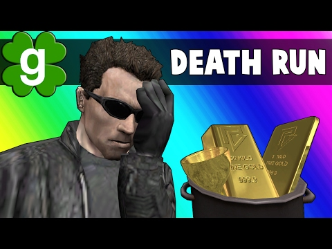 Gmod Deathrun Funny Moments - St. Patty's Day Map! (Garry's Mod)