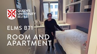 Room and Apartment in City Centre Accommodation - Elms BT1