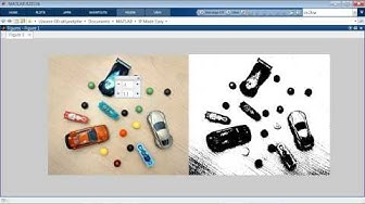 Identify , Classify and count objects in Matlab using Regionprops