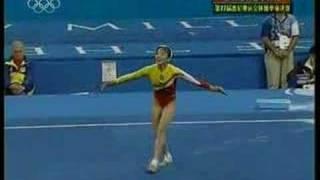 Yang Yun EF Floor @2000 Olympic Games