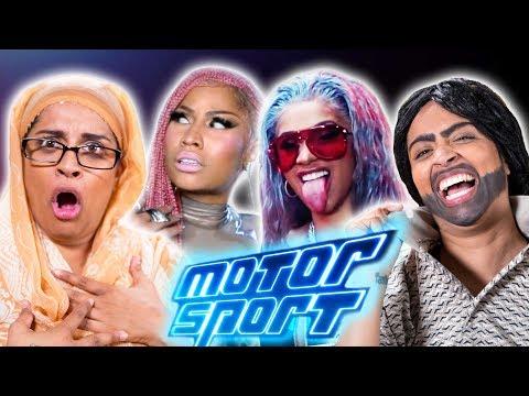 Migos, Nicki Minaj, Cardi B - MotorSport   My Parents React (Ep. 26)