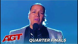 Celina Graves: Sofia Vergara Calls This Singer The HIGHLIGHT at AGT Quarterfinals