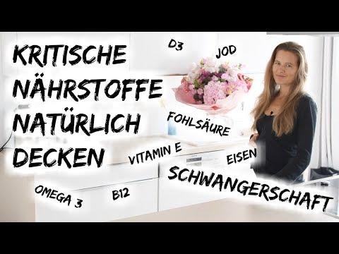 KRITISCHE NÄHRSTOFFE WÄHREND DER SCHWANGERSCHAFT NATÜRLICH DECKEN