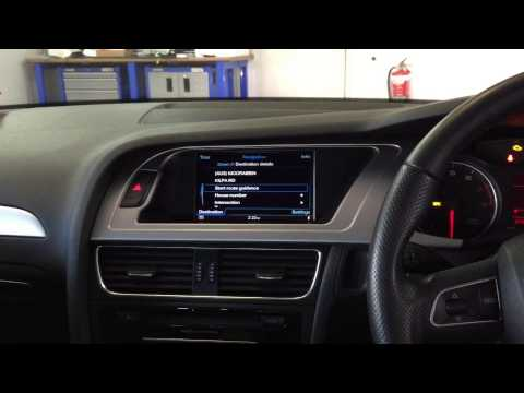 Audi A4 B8 8k Mmi 3g Plus Retrofit