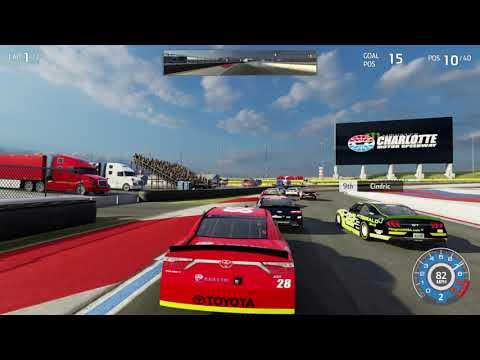 NASCAR Heat 3 wild NC Roval |