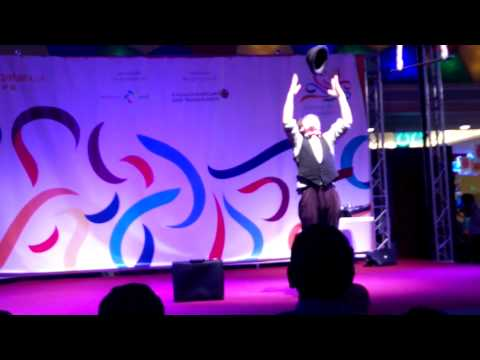 Mime Artist Performance @ Al Khor Mall Qatar
