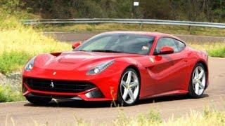 Vicki Tests Out The Ferrari F12 Berlinetta - Fifth Gear