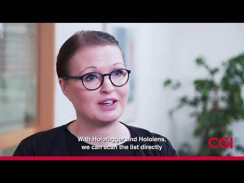 CGI's HoloTagger Solution for Biobanken Norr